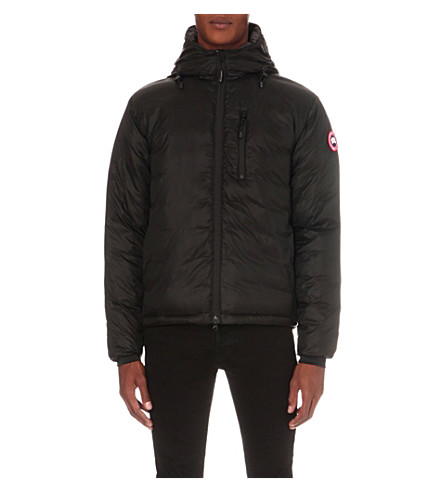CANADA GOOSE Lodge quilted shell jacket (Black+graphite