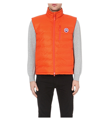 CANADA GOOSE Lodge quilted gilet (Amber