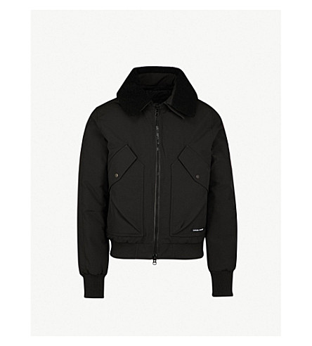 CANADA GOOSE Bromley down-filled shell jacket (Black
