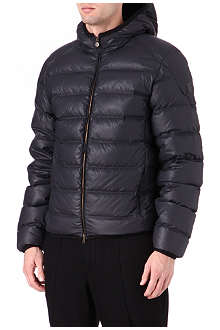 MATCHLESS Quilted hooded workshop jacket