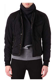 MATCHLESS Diamond quilt bomber jacket