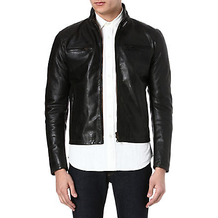 MATCHLESS Osborne blouson jacket (Antique+black