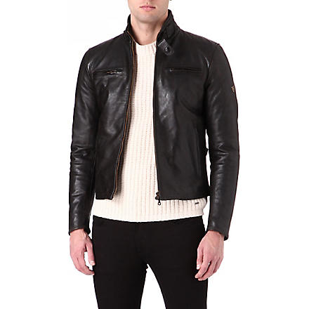 MATCHLESS Osborne blouson jacket (Black