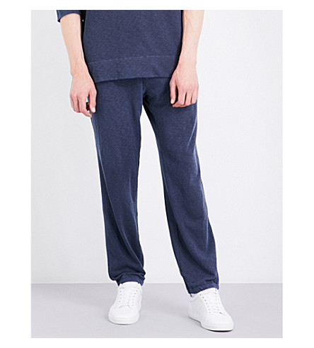 JAMES PERSE Vintage cotton-jersey jogging bottoms (Deep
