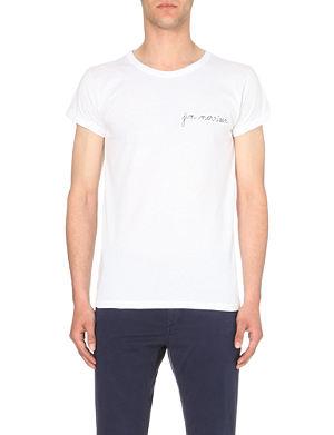 MAISON LABICHE Jim morrison cotton t-shirt