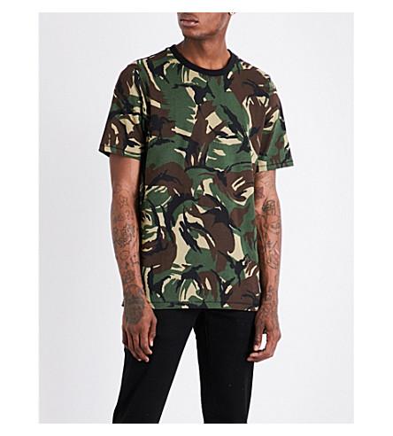 RAG & BONE Camouflage-print cotton-jersey T-shirt (Camo