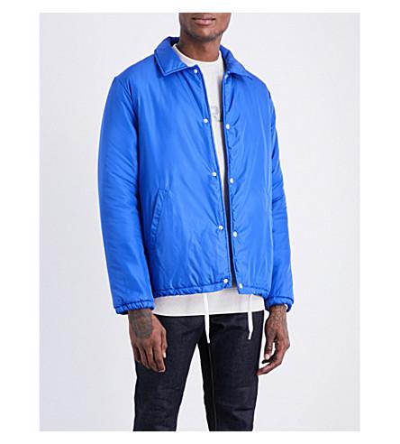 MAISON KITSUNE Padded shell jacket (Royal+blue