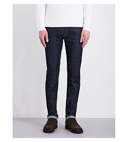 KENT & CURWEN Slim-fit skinny jeans (Navy