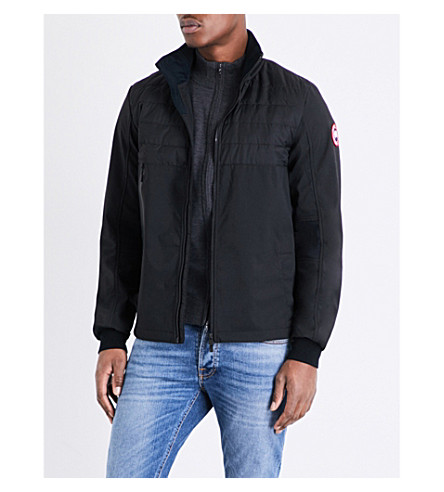 CANADA GOOSE Jericho down-filled shell bomber jacket (Black