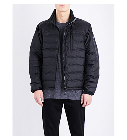 CANADA GOOSE Lodge quilted shell jacket (Black/graphite