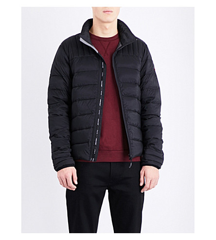 CANADA GOOSE Brookvale quilted shell jacket (Black/graphite