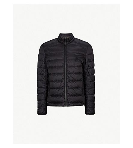 BELSTAFF Ryegate 绗缝软壳面料夹克 (黑色
