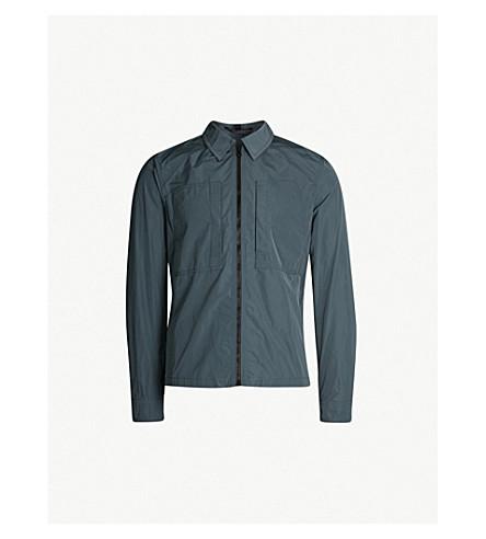 BELSTAFF Thorncroft 2.0 软壳面料外套式衬衫 (蓝色 + 火石