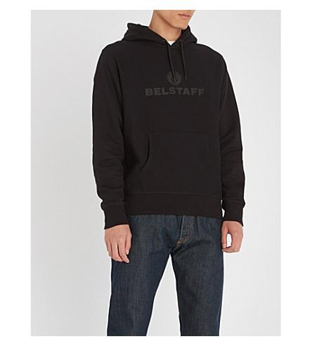 BELSTAFF Northview cotton-jersey hoody (Black