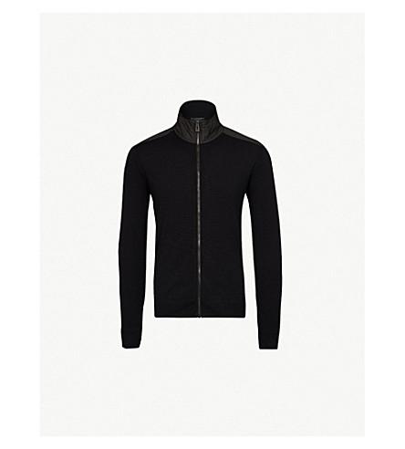 BELSTAFF Coombewood wool jumper (Black