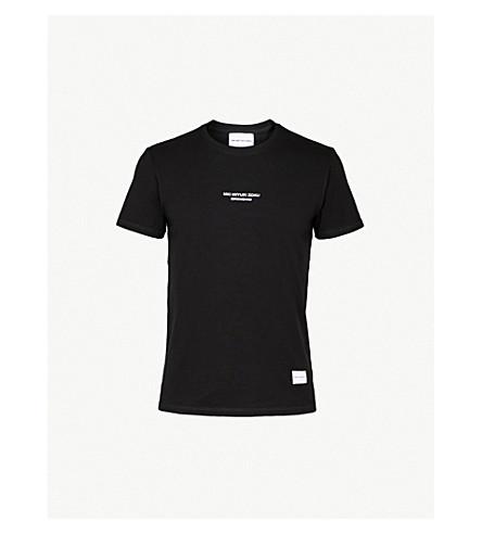 MKI MIYUKI-ZOKU Embroidered-logo cotton-jersey T-shirt (Black