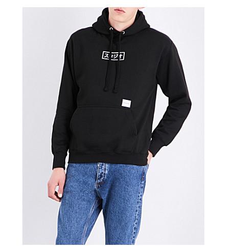 MKI MIYUKI-ZOKU Studio Box cotton-blend hoody (Black