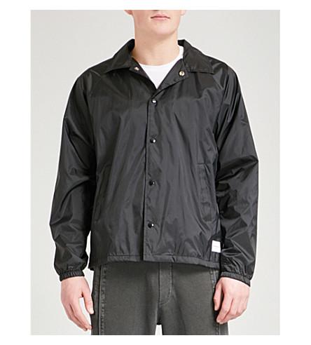 MKI MIYUKI-ZOKU Symbol shell coach jacket (Black