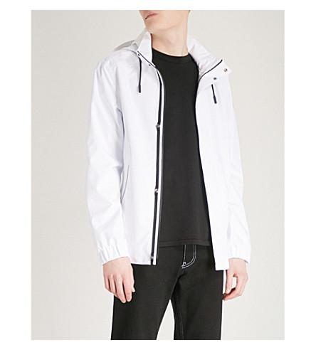 MOOSE KNUCKLES Bruce Peninsula shell jacket (White