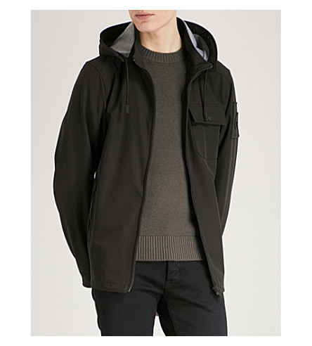 MOOSE KNUCKLES Riding Mountain shell anorak coat (Black