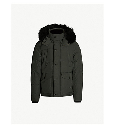 MOOSE KNUCKLES Port Dufferin padded shell-down jacket (Canadaian army