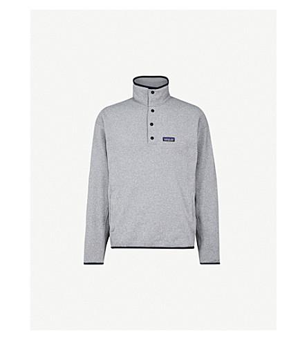PATAGONIA Marsupial Better Sweater fleece sweatshirt (Feather+grey