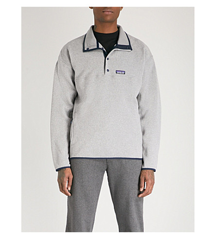 PATAGONIA Marsupial Better Sweater fleece sweatshirt (Feather+grey