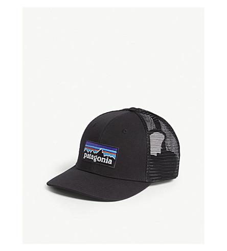 PATAGONIA P-6 logo trucker cap (Black
