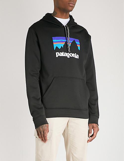 PATAGONIA Logo-print recycled jersey hoody