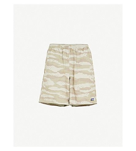 PATAGONIA Baggies camouflage-print woven shorts (Rock+camo+hex+grey