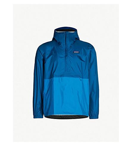 PATAGONIA Torrentshell recylced shell jacket (Big+sur+blue