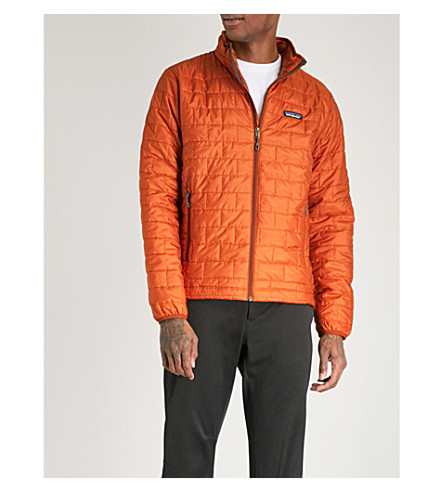 PATAGONIA Nano Puff recycled shell jacket (Copper+ore