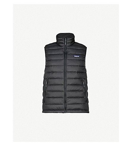 PATAGONIA Padded shell-down gilet (Black