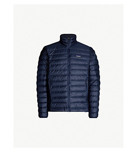 PATAGONIA Padded recycled shell jacket (Navy