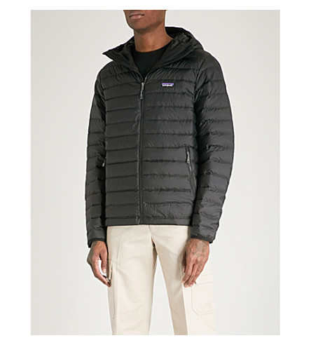 PATAGONIA Padded shell-down hooded jacket (Black