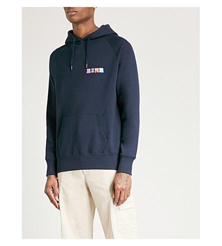 EINE Type cotton-jersey hoody (Navy