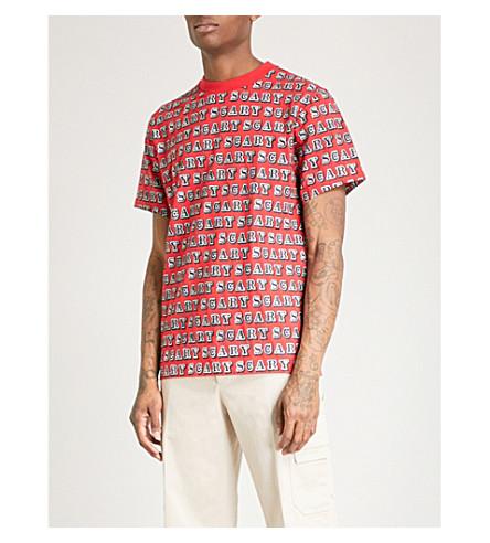 EINE Scary cotton-jersey T-shirt (Red