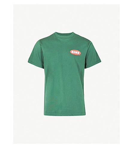 EINE Spray Paint cotton-jersey T-shirt (Forrest+green