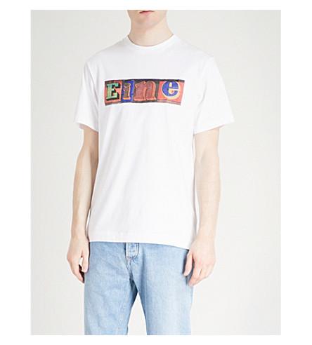 EINE Shutter cotton-jersey T-shirt (White