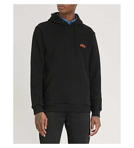 POST DETAILS Drama Club cotton-blend hoody (Black