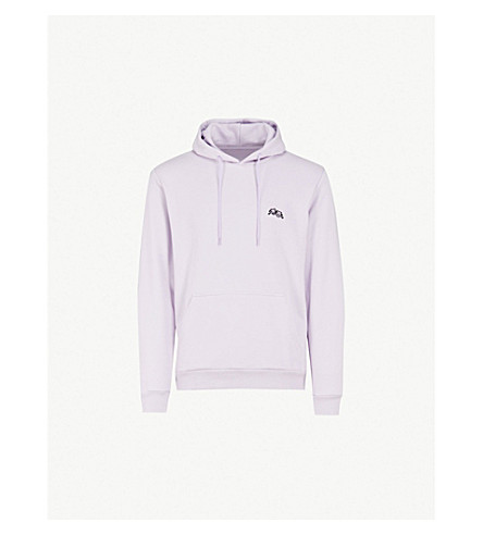 POST DETAILS Drama Club cotton-blend hoody (Purple