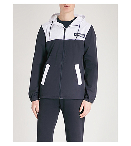 NAPAPIJRI Two-tone hooded shell jacket (Multicolour