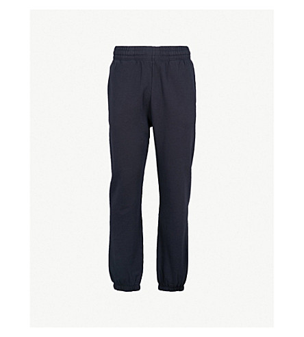 NAPAPIJRI Maray logo-print cotton-jersey jogging bottoms (Blue+marine