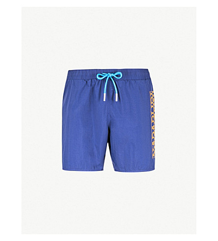 NAPAPIJRI Varco logo swim shorts (Blue+depth