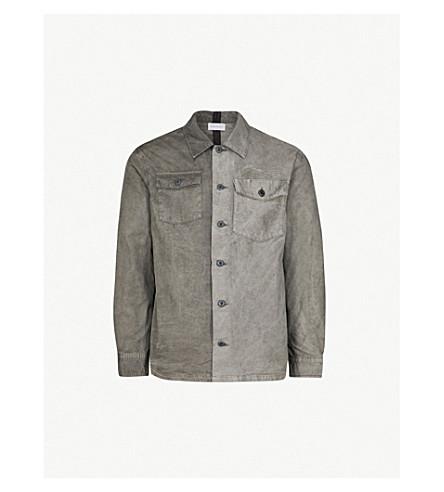 JOHN ELLIOTT Distorted regular-fit cotton shirt (Charcoal