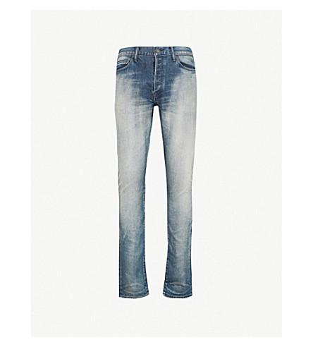 JOHN ELLIOTT投 2 修身版型紧身牛仔裤(海岸光蓝色