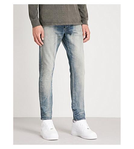 JOHN ELLIOTT Cast 2 distressed slim-fit skinny jeans (Coast light indigo