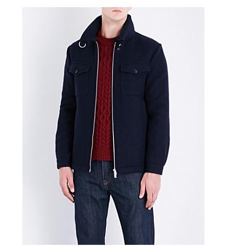 KENT & CURWEN Duxford wool jacket (Navy