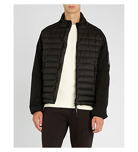 CP COMPANY Quilted down jacket (Black