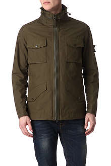 STONE ISLAND Military style hooded jacket